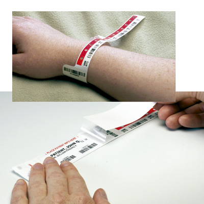 Pulsera de identificación sanguínea