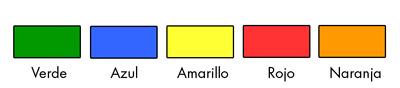 Colores marcadores alertplus