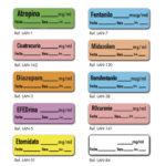 Etiquetas para fármacos