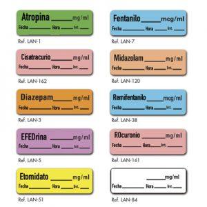 etiquetas para farmacos