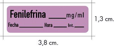 etiquetas medicación anestesia