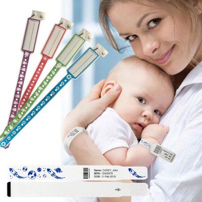 Gama pulseras pediatricas
